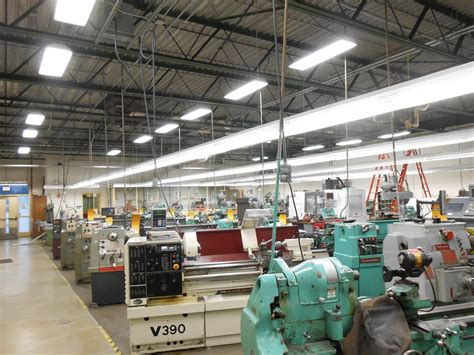Shop For Lighting How Machine Shops Can Keep Energy Costs