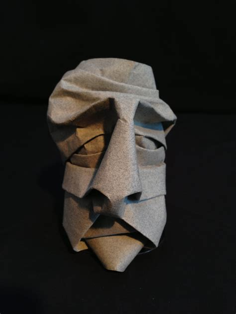 How To Make A Origami Mask - mask c origami