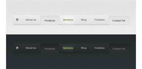 design menu buttons user interface inspiration menus and buttons
