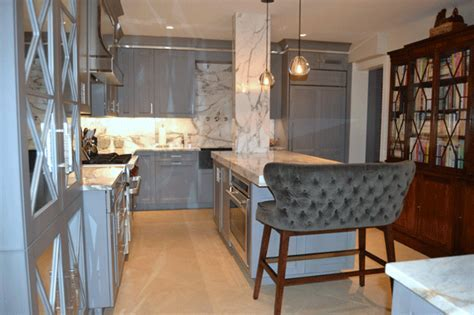 Calacatta Marble   Kitchen countertops   Marble Contractor