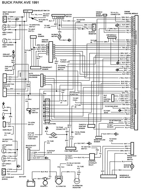 heater wiring diagram for 2004 park ave wiring diagram website