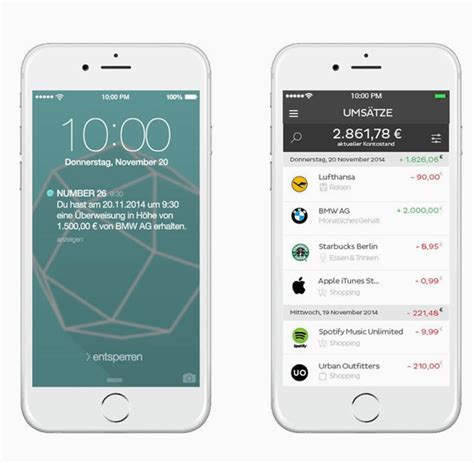 wirecard bank app number26 app zeigt kontobewegungen in echtzeit an welt