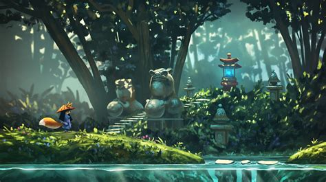 artstation  platform game concepts quentin regnes environments   types