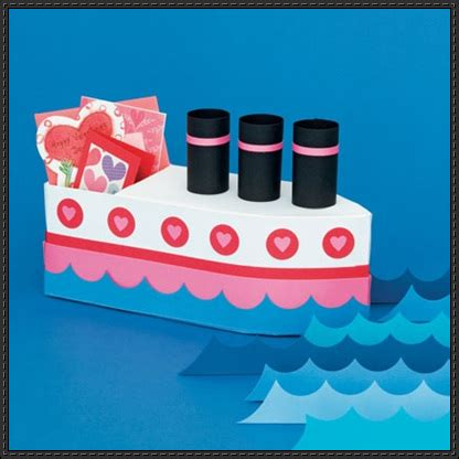 how to make paper new boat papercraftsquare new paper craft valentine s day