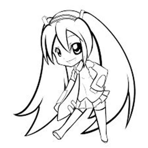 imagenes de hatsune miku kawaii para colorear resultado de imagen para hatsune miku para colorear
