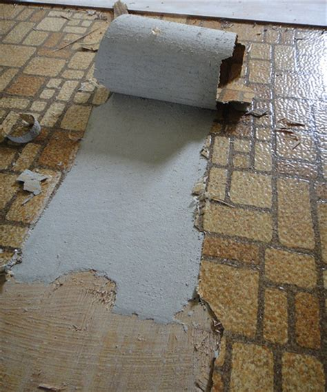 Asbestos Sheet Flooring Identification by About Mesothelioma Site Desember 2011