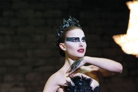 themes in black swan movie feathers and female transformations becoming animal in