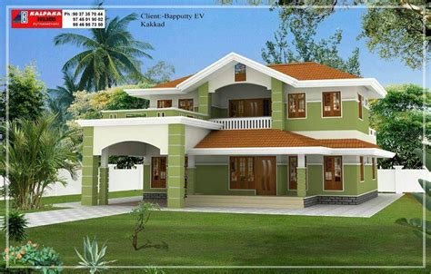 2100 Square Feet by 2100 Square Feet 4 Bedroom Double Floor Home Design And