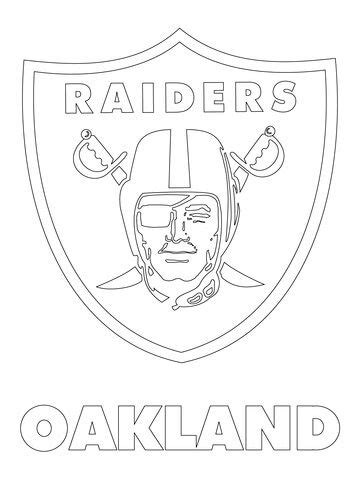 click   printable version  oakland raiders logo