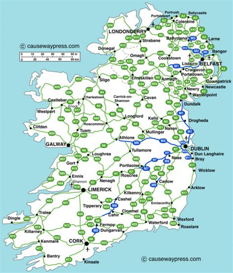 printable map ireland counties towns driving map of ireland counties have made a much better