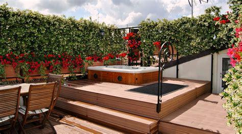 minipiscina da terrazzo minipiscina in terrazzo rialzato