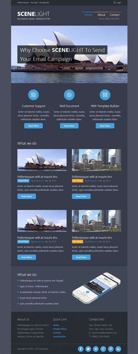 email template builder software scenlight responsive email template with builder by