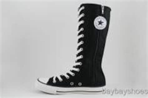 Converse Hi Monoblack Indonesia Madeunisex converse all x hi black white zipper knee