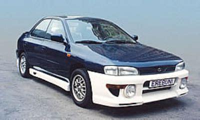 frontlip for subaru impreza 1994 1998 avb sports car tuning spare parts erebuni frontbumper avb sports car tuning spare parts