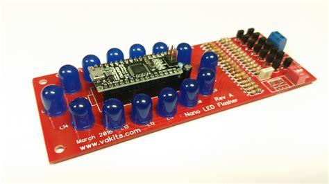 flasher resistor kit arduino nano led flasher kit from nfceramics on tindie