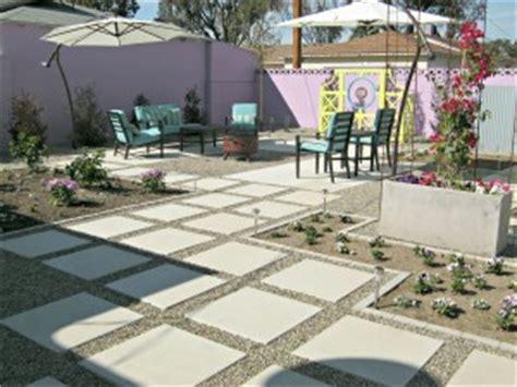 concrete backyard makeover concrete backyard makeover lynda makara