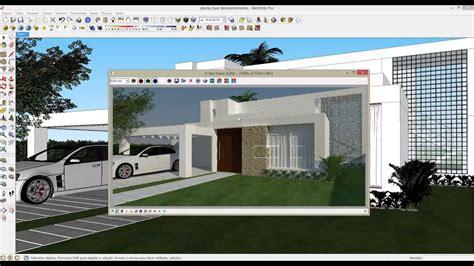 tutorial para vray sketchup 8 curso sketchup v ray ead aula renderiza 231 227 o