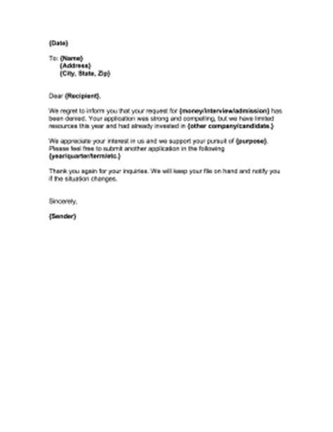 Rejection Letter Car Cover Letter And Some Basic Considerationsbusinessprocess