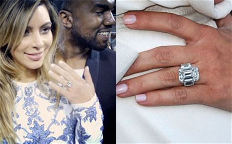 engagement ring from kanye