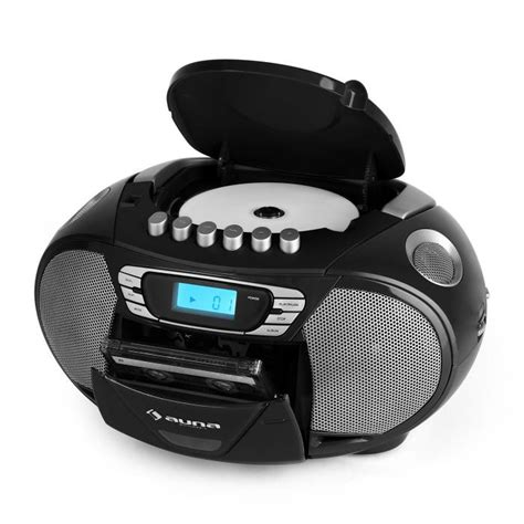 cassette and cd player krisskross portable boombox cassette player usb mp3 fm cd