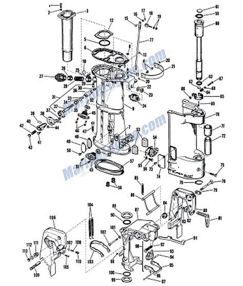 evinrude lower unit diagram johnson 40 hp engine wiring diagram wiring diagram with