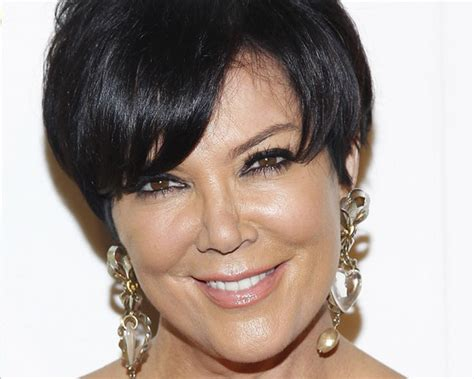 does kris jenner have thick hair kris jenner and her short layered haircut hair world