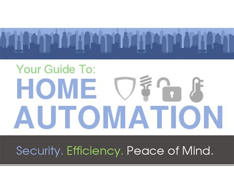 infographic home automation systems guide