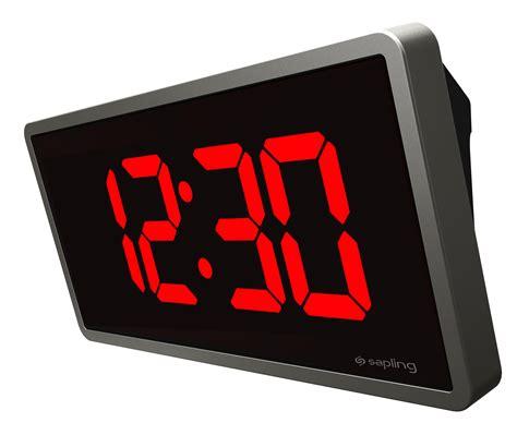 digital wall clock sbl wireless digital clock wireless digital wall clocks