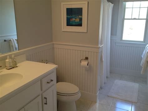 how to put up beadboard in bathroom remodeling bathroom wall surfaces