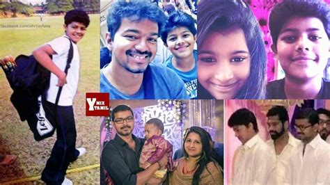 actor vijay daughter recent photos vijay family photos with son sanjay wife sangeetha