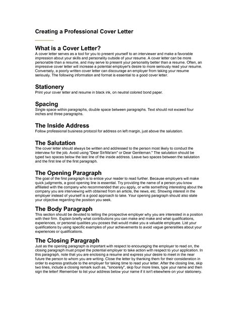 best salutation for a cover letter best photos of professional salutations exles letter