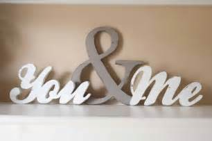 word for home decor you and me wood word sign you me home decor