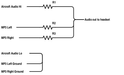 what do resistors do to sound resistor values for a passive audio mixer electrical engineering stack exchange