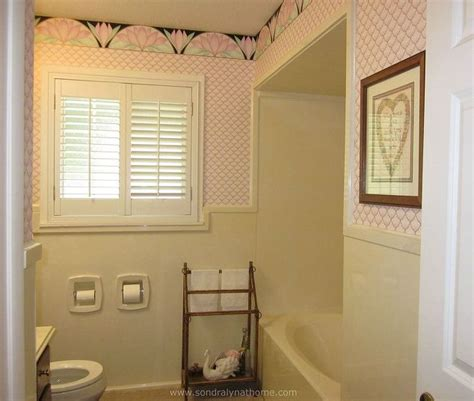 glam bathroom ideas small bathroom glam redo hometalk