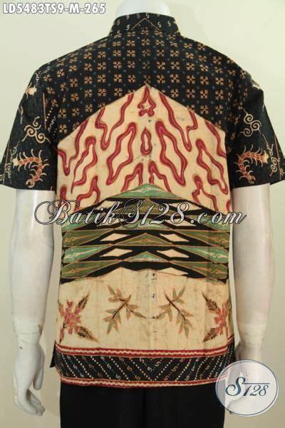 Baju Batik Pria Slimfit Batik Mewah Harga Terjangkau Kwalitas Dijamin baju kemeja lengan pendek untuk pria berbahan batik tulis
