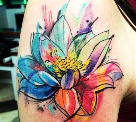 significato fiori tatuaggi con fiori significato e 200 foto