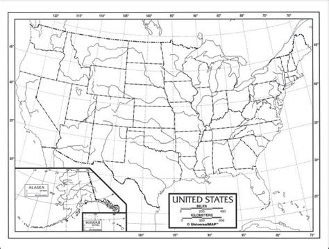 blank physical map of united states u s map laminated single 8 quot x 11 quot 009988 details