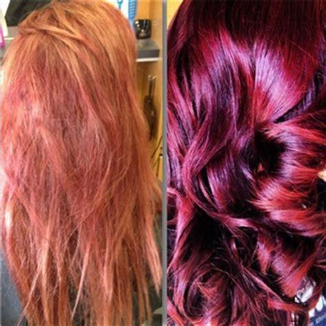 black hair to raspberry hair color formula formula a 3 2 oz tigi 20 volume developer