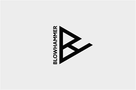 fashion logo design behance bh blowhammer on behance