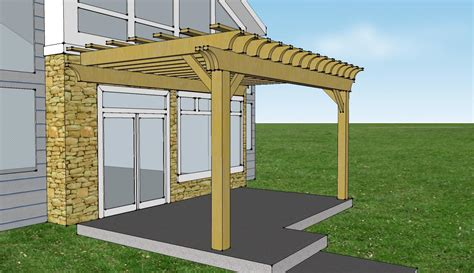 Pergola Attached To House Kit Pergola Design Ideas Attaching Pergola To House