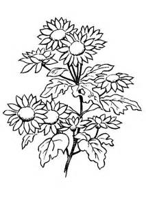 Galerry easter flower coloring page