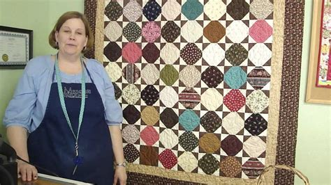 Patchwork Company - make an amalie snowball quilt using charm squares