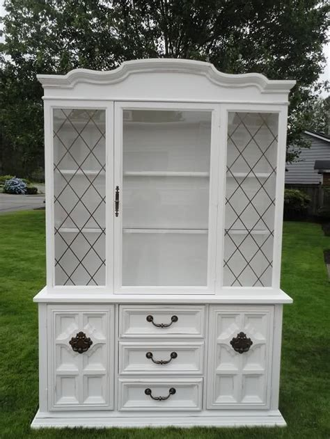 white hutches for kitchen 1000 ideas about white hutch on hutch