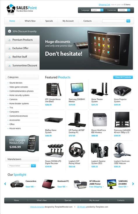 29 online store web template miễn ph 237