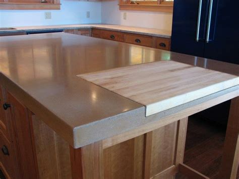 Cut Butcher Block Countertop by Ideas About Concrete Countertops Cement Butcher Blocks Ikea Hack Kitchen Island