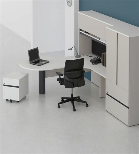 P Desk by Groupe Lacasse Options Series Offer Unmatched Comfort