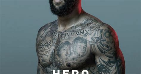 tim howard poses on the front of the latest edition of