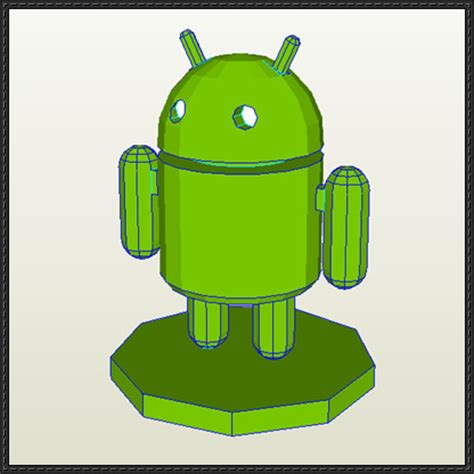 Android Papercraft - android free papercraft
