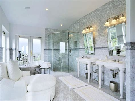 Mansion Bathrooms by See This House An 8 Million Mediterranean Estate In