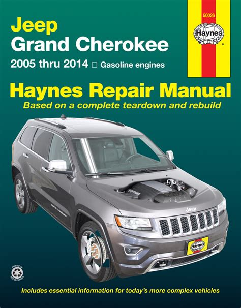 old car repair manuals 2011 jeep grand cherokee security system jeep grand cherokee haynes repair manual 2005 2014 hay50026